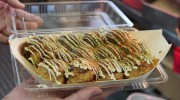 Do you know  TAKOYAKI which is known as an Osaka specialty in Japan. TAKOYAKI is a ball-shaped and made of batter(flours combined with water or milk and eggs), and boiled […]