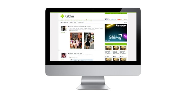 Desktop mobile Tablin web design is decided as above. Tablin community servise is opened for the near future.
